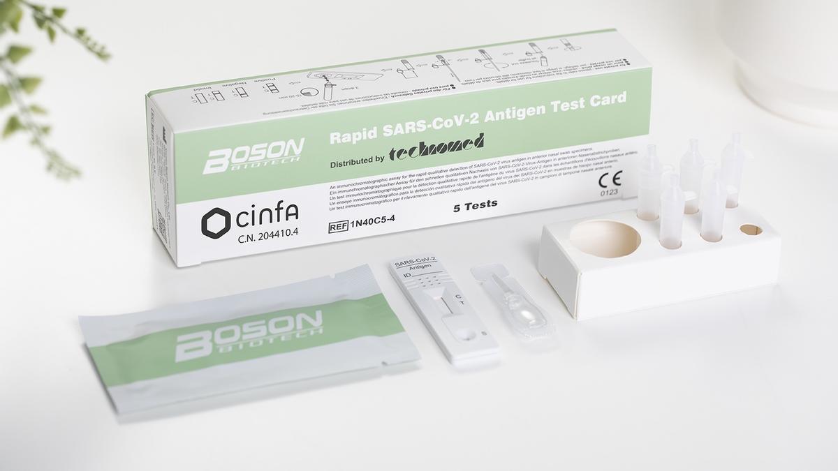 El test de antígenos distribuido por la empresa española Cinfa.