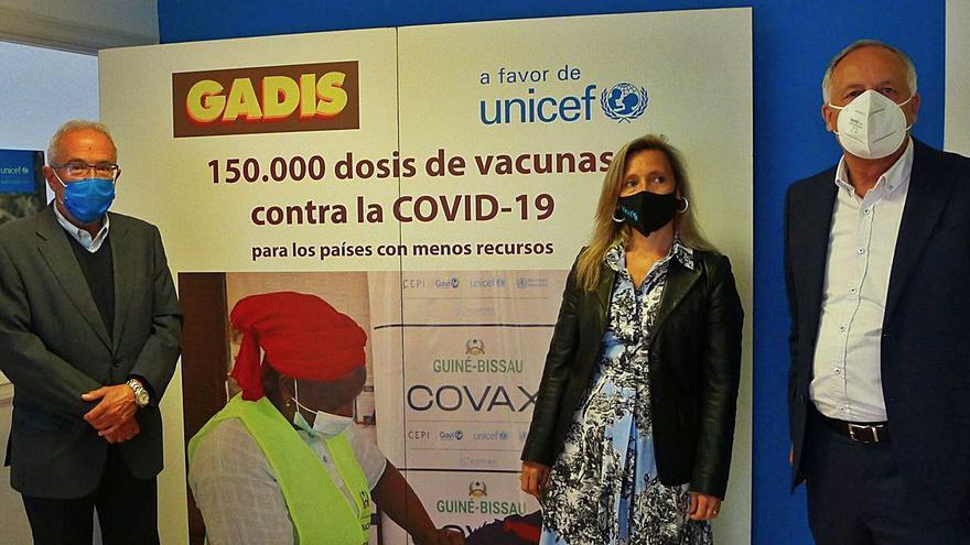 Gadis y Unicef enviarán 15.000 vacunas a países en desarrollo