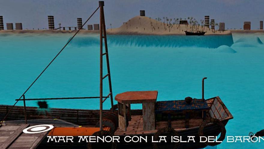 Videojuego sobre el Mar Menor del CEIP San Isidro