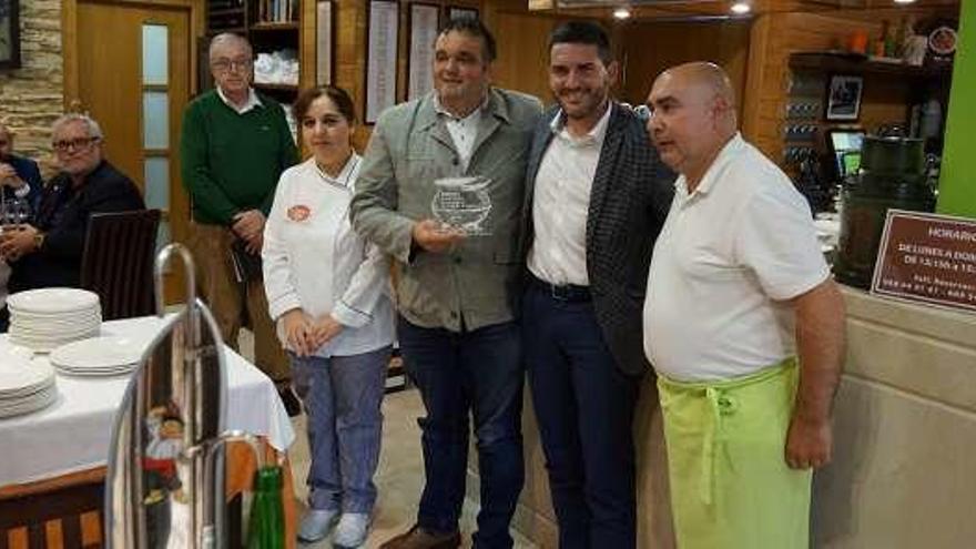 Casa Menéndez, en Murcia, premia a la faba IGP asturiana