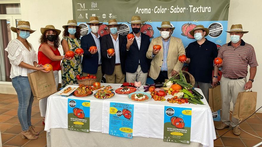 Sabor a Málaga dedica el mes de agosto al Tomate Huevo de Toro