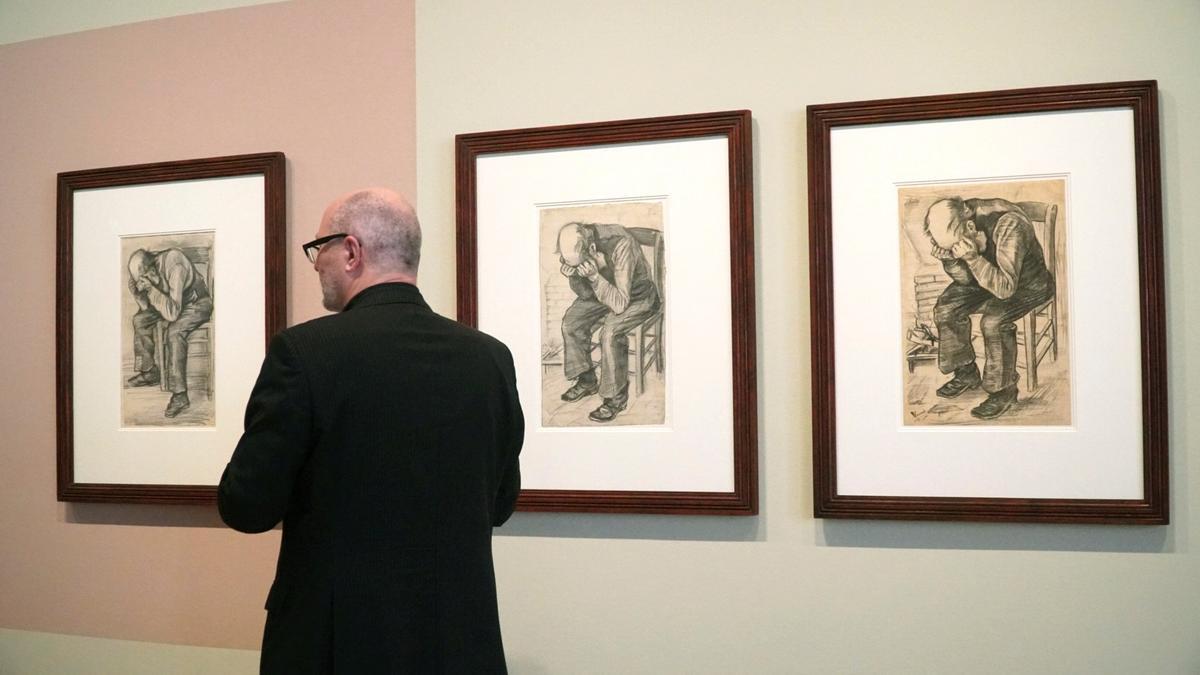 Descubren un nuevo dibujo de Vincent van Gogh de 1882.