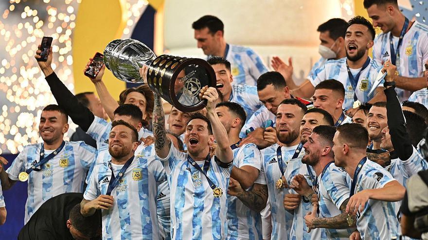 La conquesta de la Copa Amèrica apropa Messi a la decisió final sobre el Barça