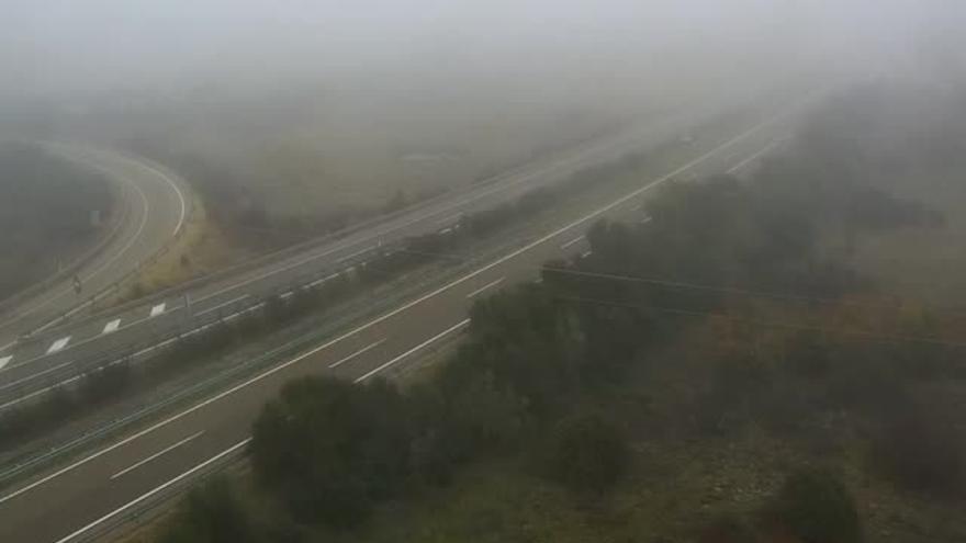 Niebla en Zamora: Consulta las carreteras afectadas