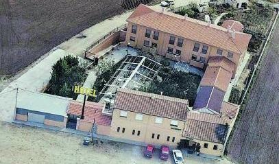 Hotel Restaurante Casa Aurelia sin las últimas ampliaciones. | CEDIDA