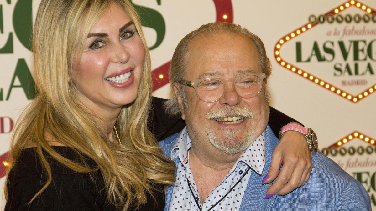 Arévalo y Malena Gracia, en una fiesta en Madrid