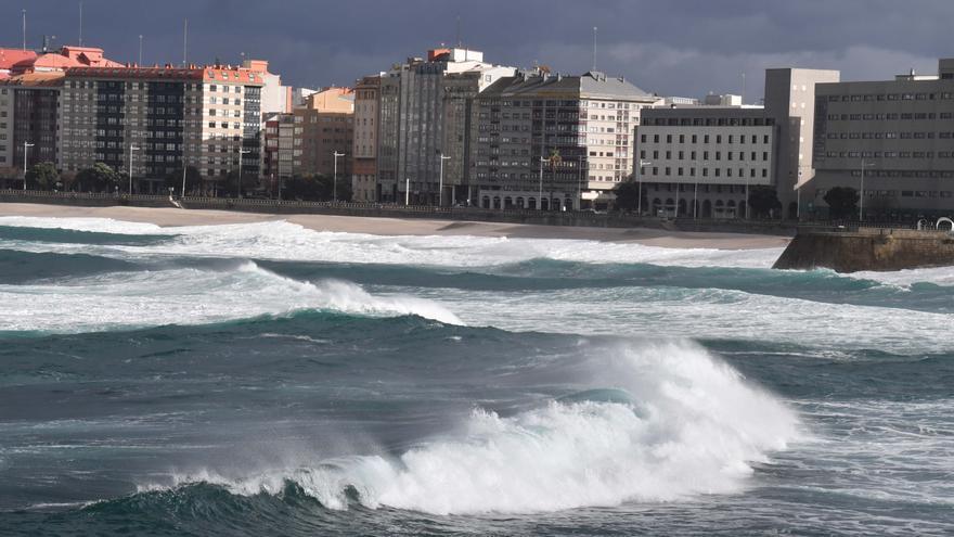 La borrasca 'Hortensia' entra en Galicia a más de 100 km/h