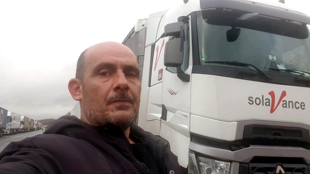 El camionero de Baena atrapado en el Reino Unido al cerrarse la frontera por el covid ya está en España