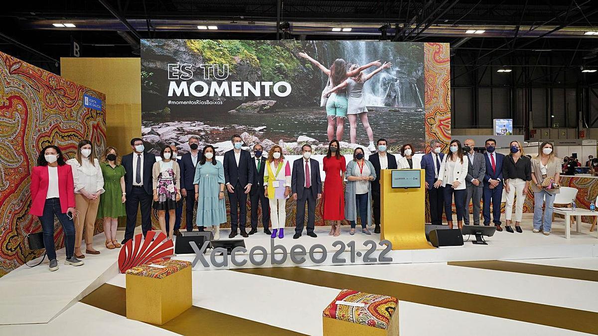 Fitur acogió también la presentación de Turismo Rías Baixas.