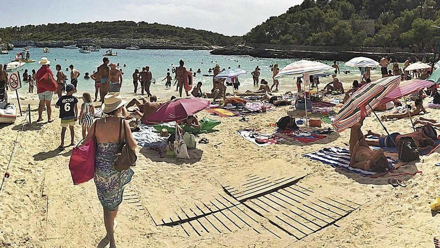 El plan de protección de Mondragó limita la llegada de excursiones marítimas
