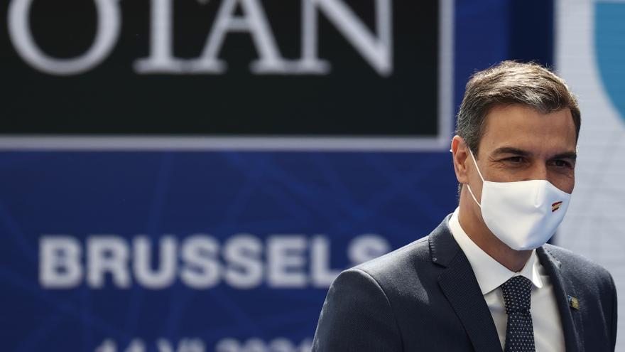 """El PP censura el """"ridículo"""" de la charla de Sánchez con Biden"""