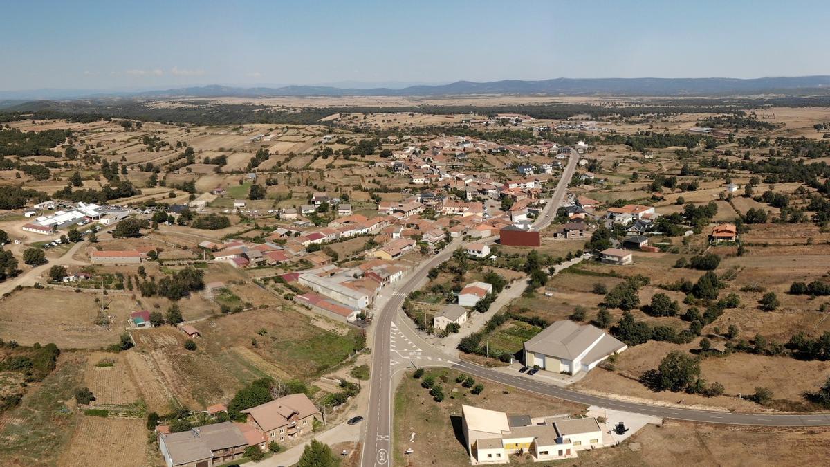 Imagen aérea de San Vitero