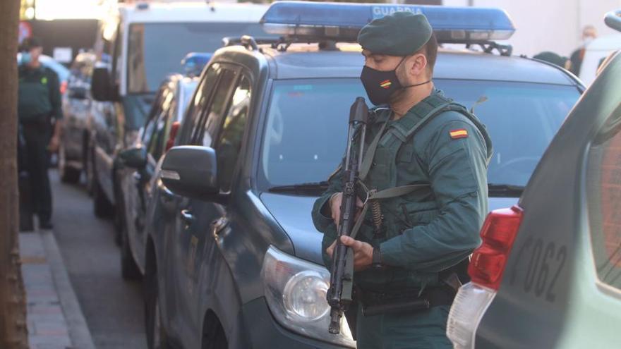 Gran despliegue de seguridad para trasladar al Melillero a los juzgados de Fuengirola
