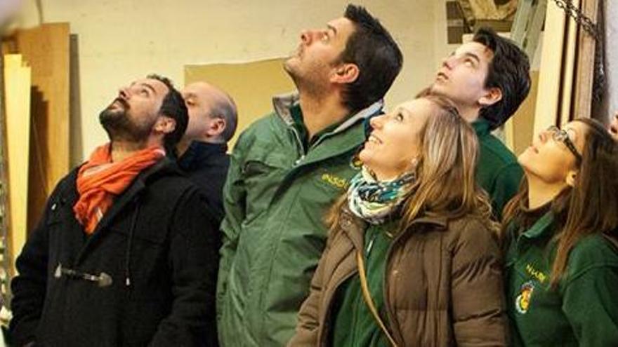 Cuando Galiana plantó la falla más verde, la más alta y la más flamenca