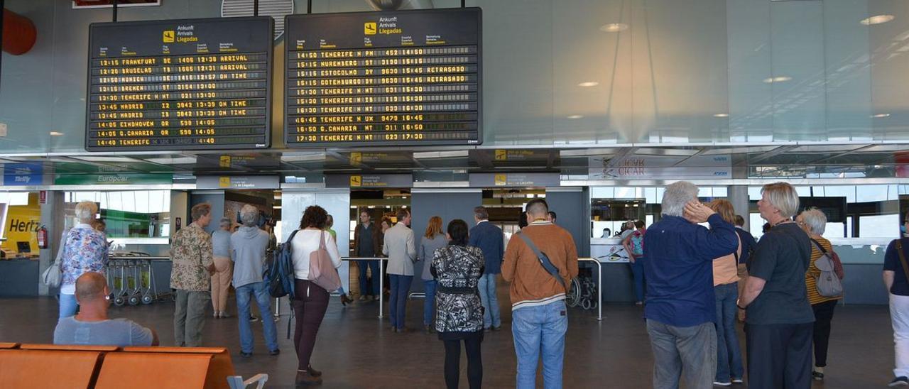 Normalidad en el tráfico aéreo de Canarias