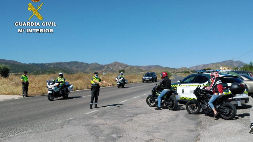 Investigan a un motorista por circular a 132 km/h en una vía limitada a 40 en Cartagena