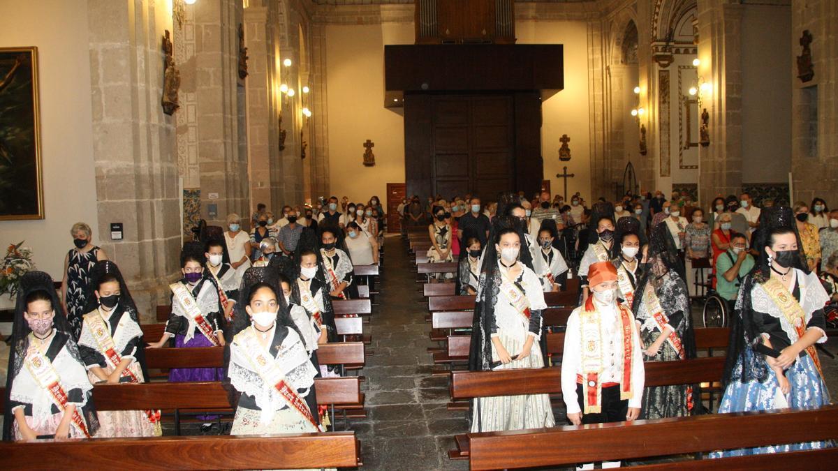 La iglesia arciprestal de Vinaròs acogió la tradicional misa por el día de Sant Joan.