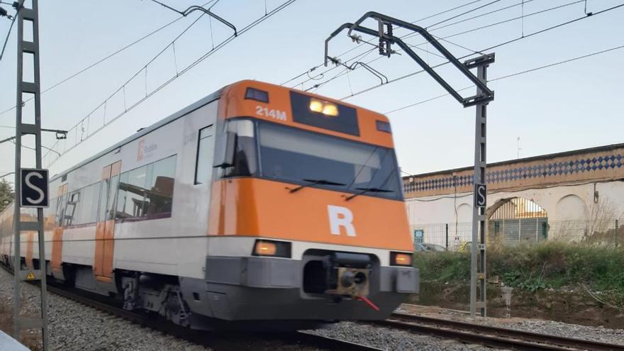 Reparat el tram ferroviari entre Maçanet i Blanes de la línia Barcelona-Mataró-Maçanet