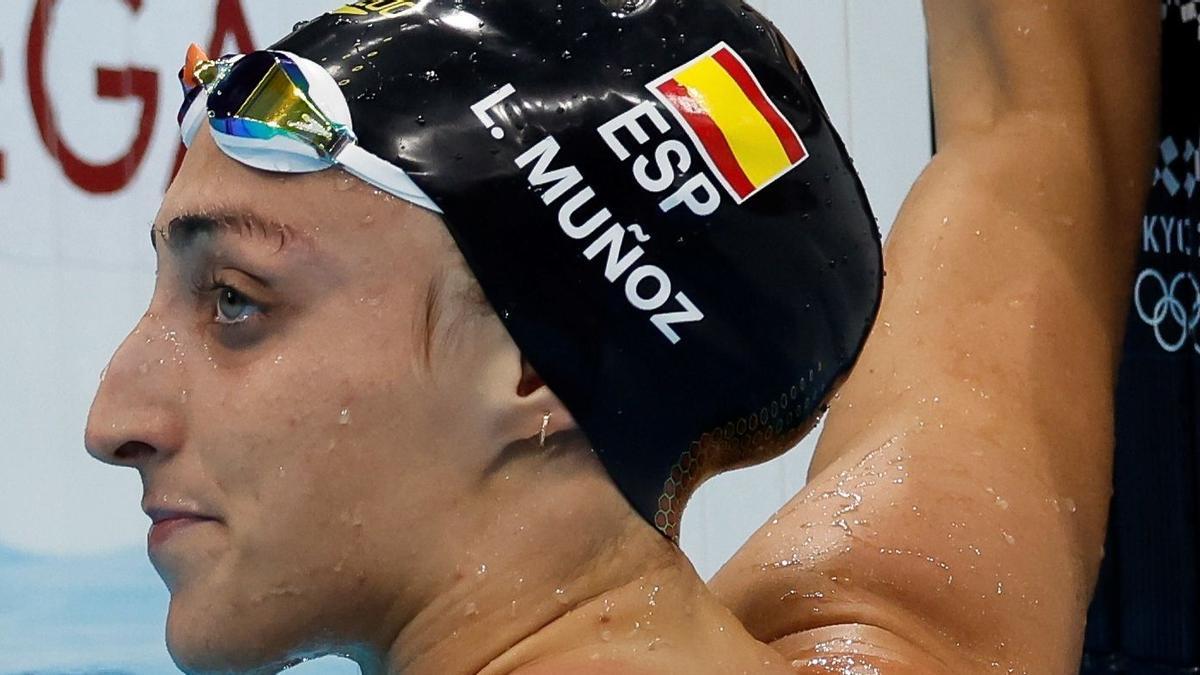 Lidón Muñoz busca en los Juegos de Tokio las semifinales en los 50 libres y 4x100 estilos