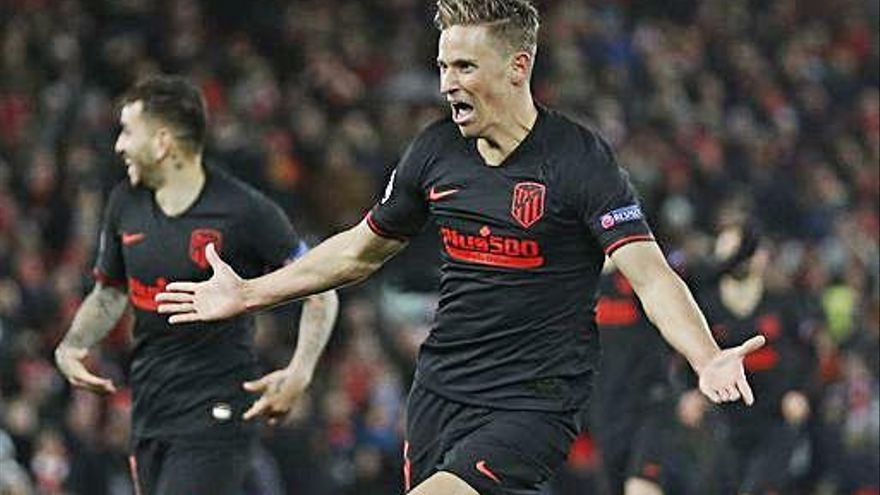 Marcos Llorente elimina al Liverpool en la pórroga