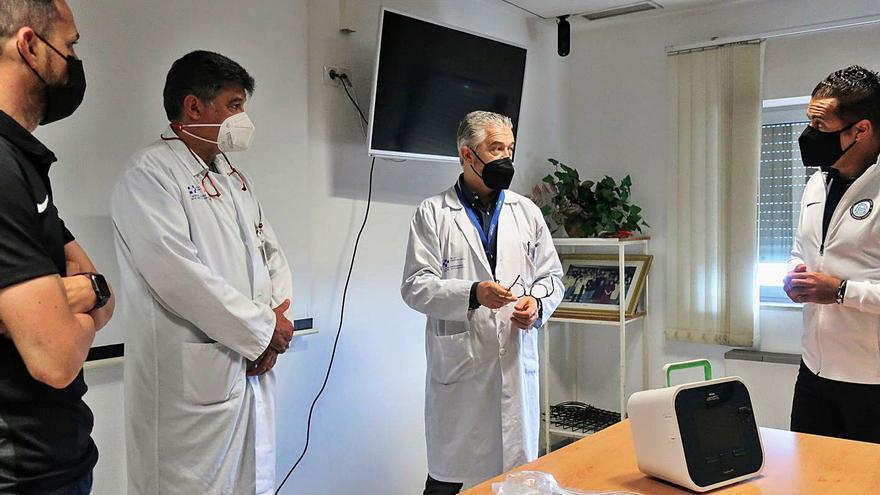 La Candelaria mejora su capacidad para tratar secreciones bronquiales