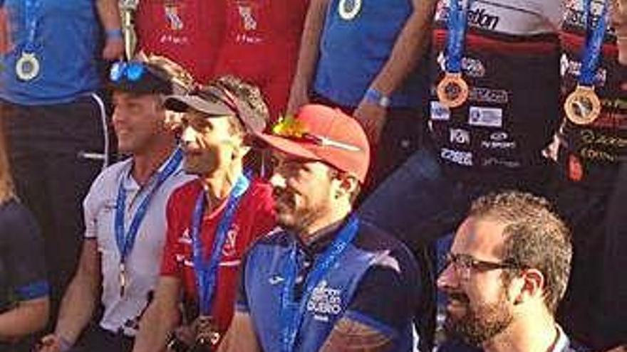 Iván Heras, campeón de España de Paraduatlón