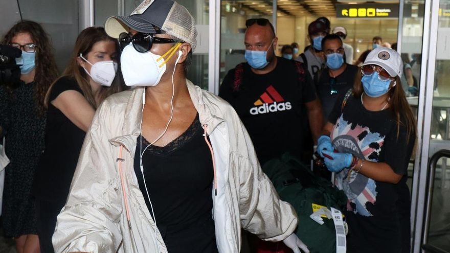 'Supervivientes': Ana María Aldón explica el motivo de su ataque de ansiedad al llegar a España