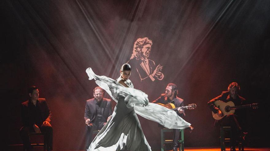 Sara Baras bailará el 10 de febrero en el Palacio de la Ópera