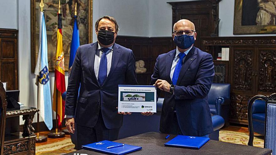 La Diputación promueve un proyecto integral de gestión ambiental en A Limia