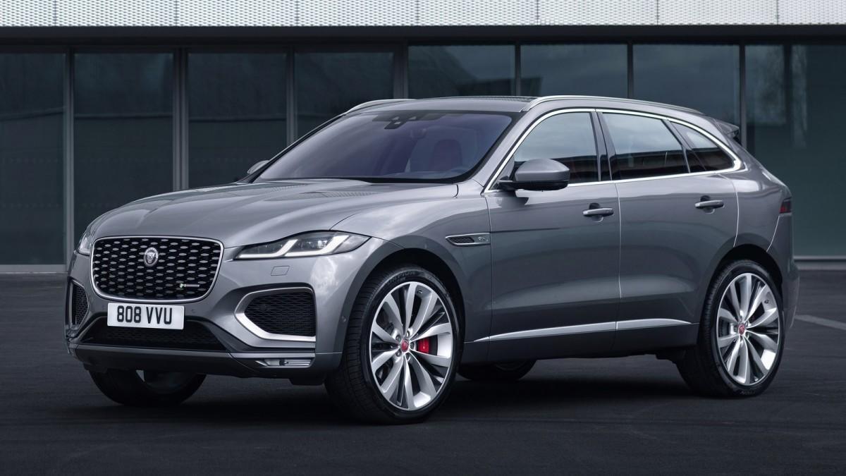 Jaguar F-Pace, una buena renovación interna