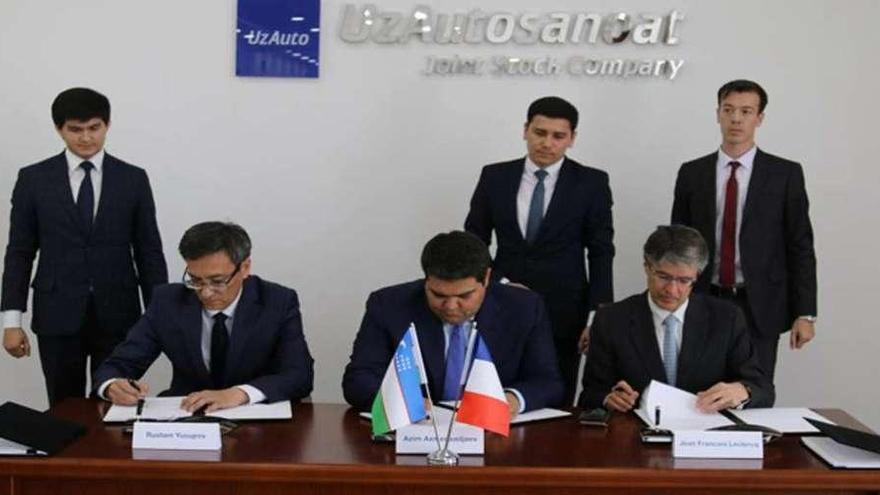 PSA abrirá una nueva planta de furgonetas en Uzbekistán