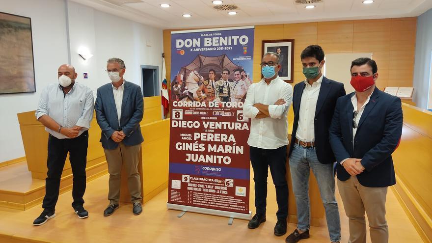 Ventura, Perera, Juanito y Marín torearán en Don Benito