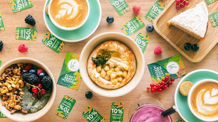 Los mejores 'hummus' en Ve Café, un restaurante ideal para ir con niños en Ibiza