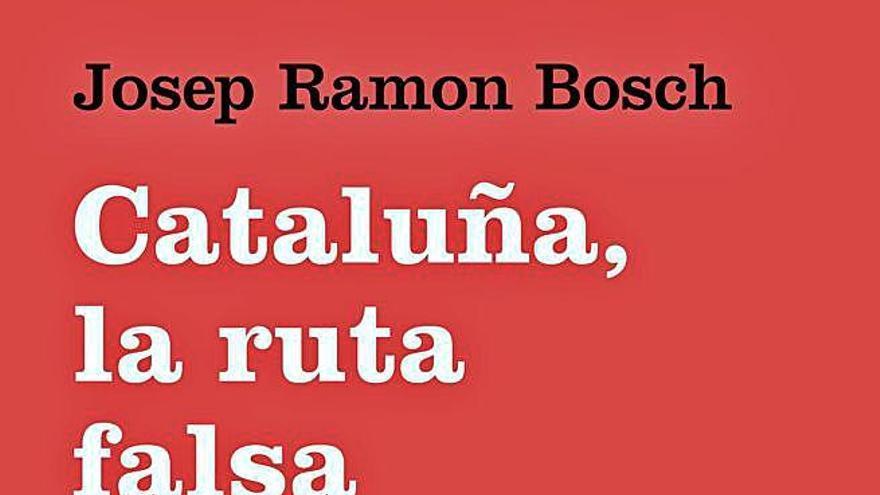 El santpedorenc Josep Ramon Bosch publica el llibre «Cataluña, la ruta falsa»