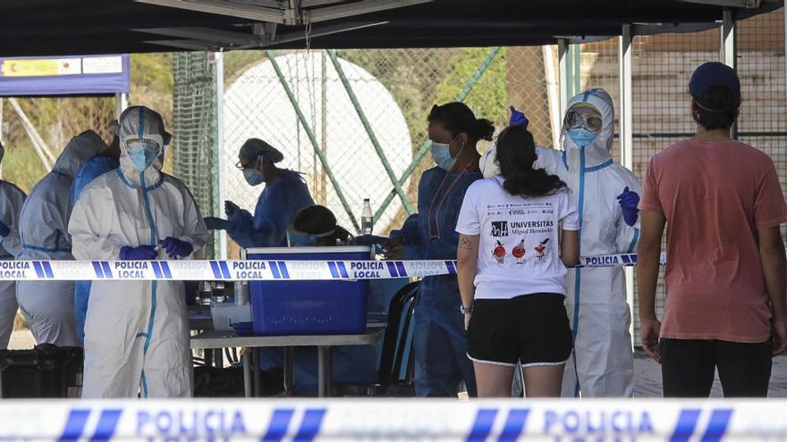 Segundo día sin brotes en la provincia de Alicante pero con 38 nuevos contagiados