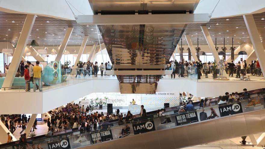 Vialia Vigo supera las 700.000 visitas en sus primeros quince días