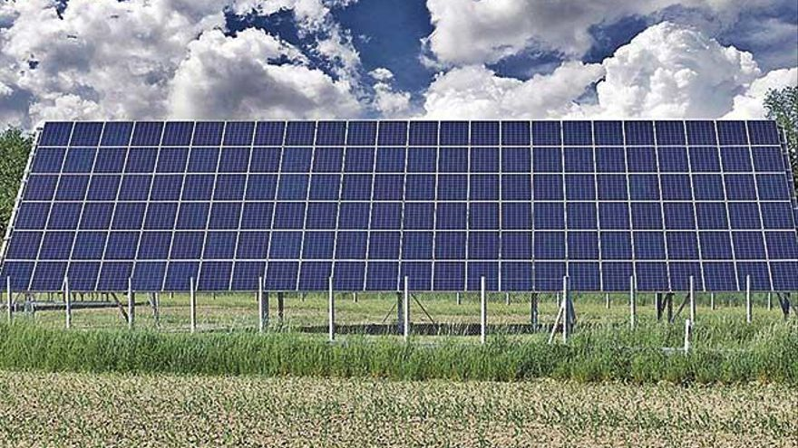 El Govern tramita 14 nuevos parques fotovoltaicos en Llucmajor