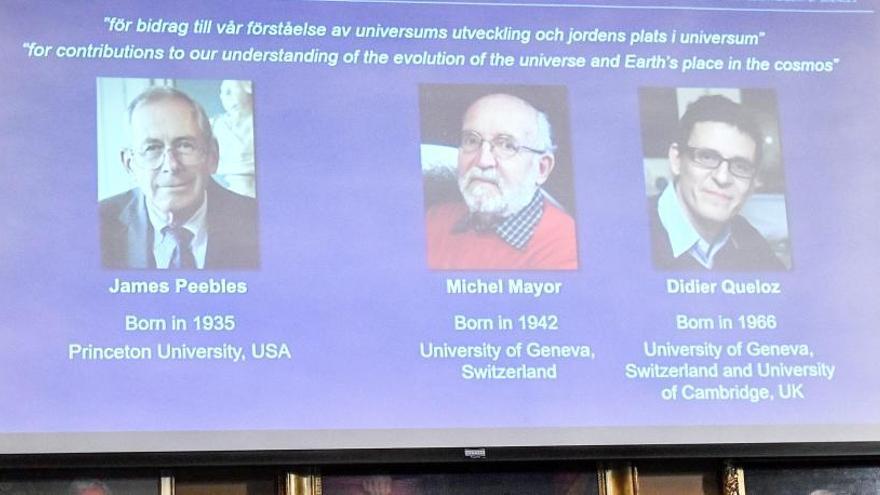 El Nobel de Física premia hallazgos sobre la evolución del Cosmos y los exoplanetas