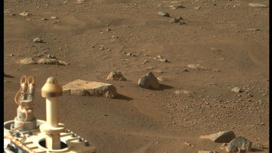 Estas son las nuevas imágenes de Marte