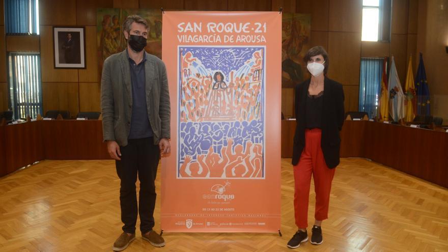 Vilagarcía quiere inundarse de nuevo, pero de música y humor