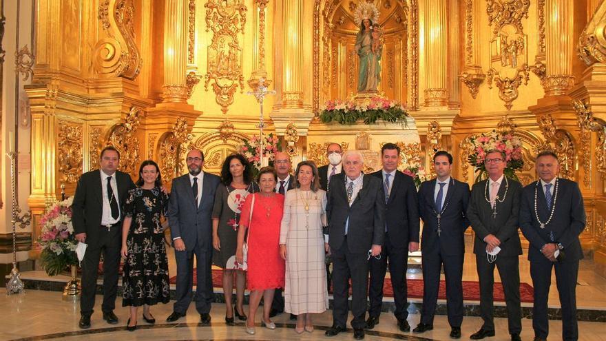 Rafael Artero recibe la Medalla de la Archicofradía del Rosario de Lorca