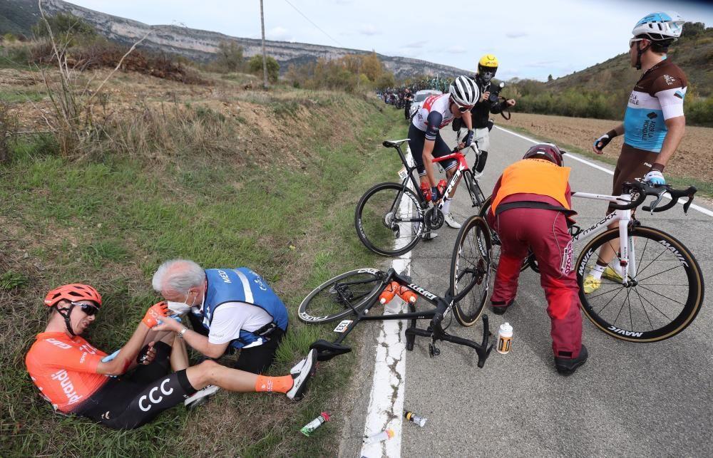 Las imágenes de la 2ª etapa de la Vuelta a España