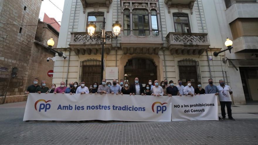 Manifestación del Partido Popular en Castelló