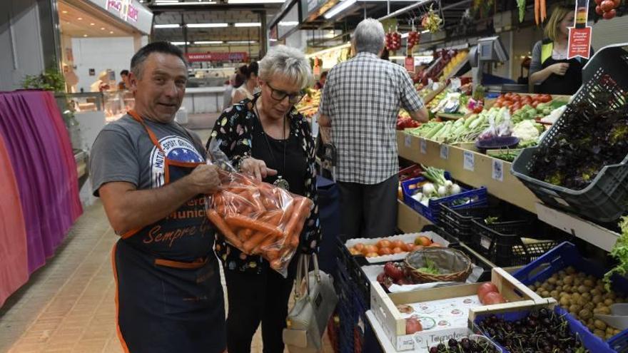 De compras en el Mercado Central de Castellón