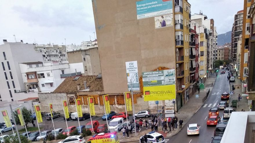 Dos peatones hospitalizados tras sendos atropellos en el centro de Xàtiva en 24 horas
