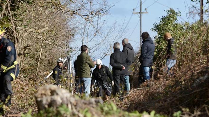 Finaliza sin éxito la búsqueda de Sonia Iglesias en un pozo en la parroquia de Marcón