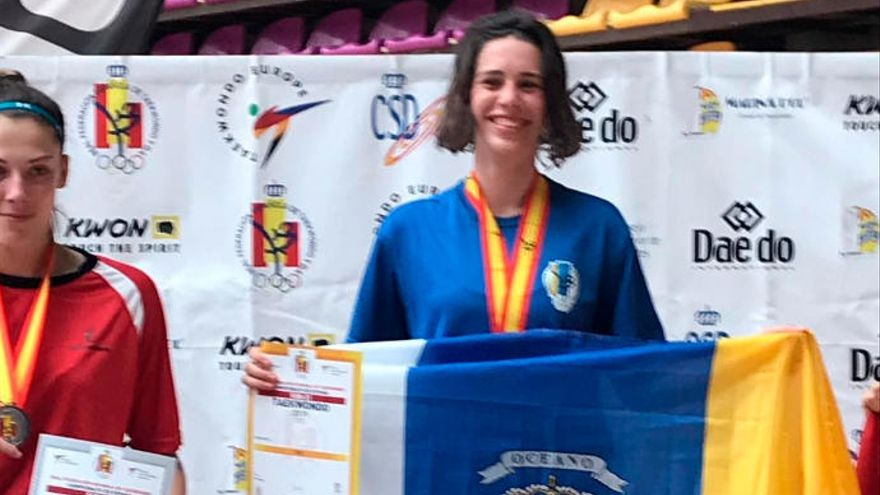 Adriana Hernández revalida su título nacional sub-21