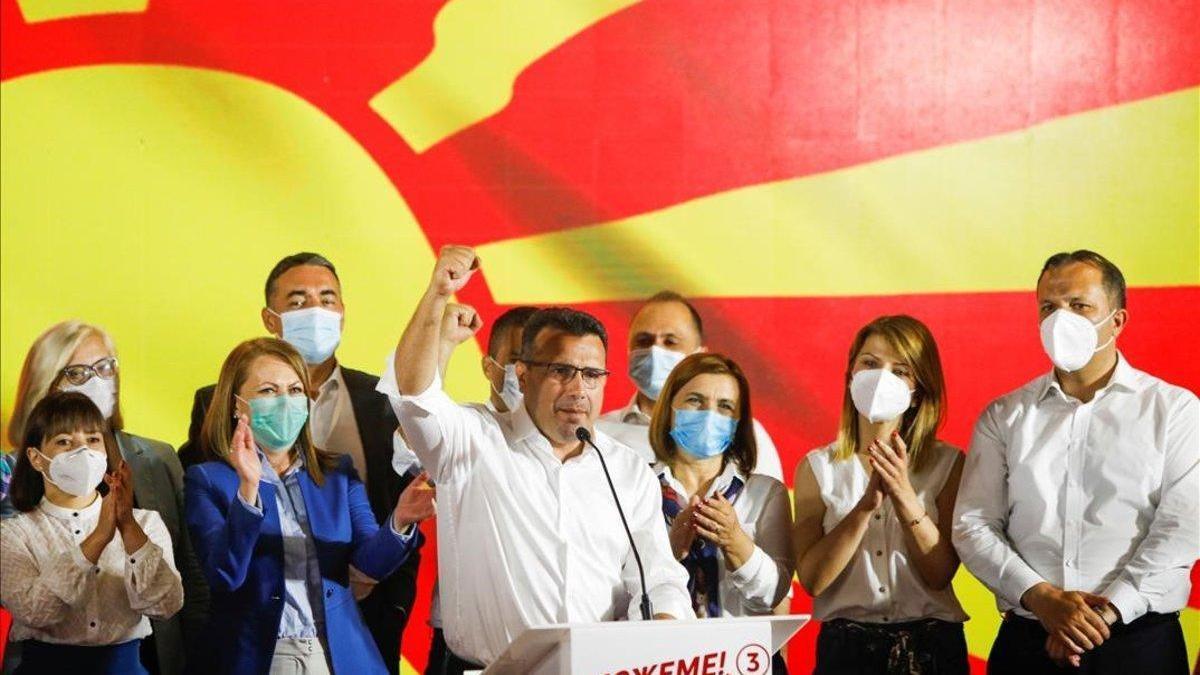 Los socialdemócratas ganan por la mínima en las elecciones de Macedonia del Norte