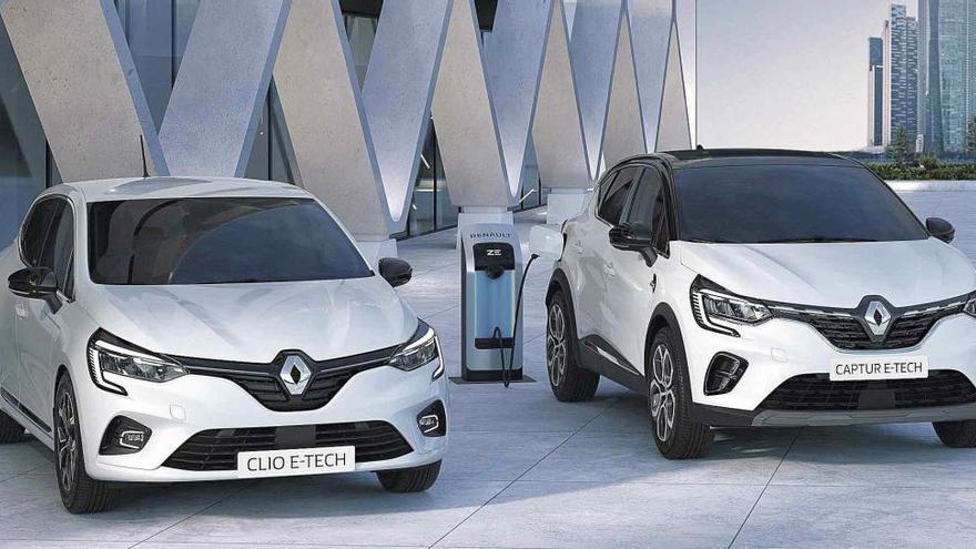 Renault Clio y Captur E-Tech, nuevas versiones más tecnológicas