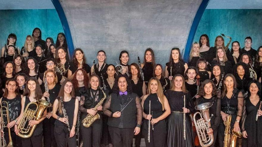 Gran Canaria´s Women Band Canta a la Vida